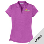 L576 - B318-S2.0-2017 - EMB - Ladies Heather Polo