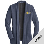 L807 - B322E001 - EMB - Ladies Cardigan