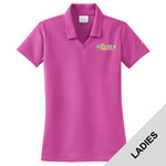 354067 - B322E001 - EMB - Ladies Nike Dry-Fit Polo Shirt