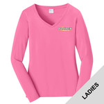 LPC540VLS - B322E001 - EMB - Ladies Long Sleeve V-Neck T-Shirt